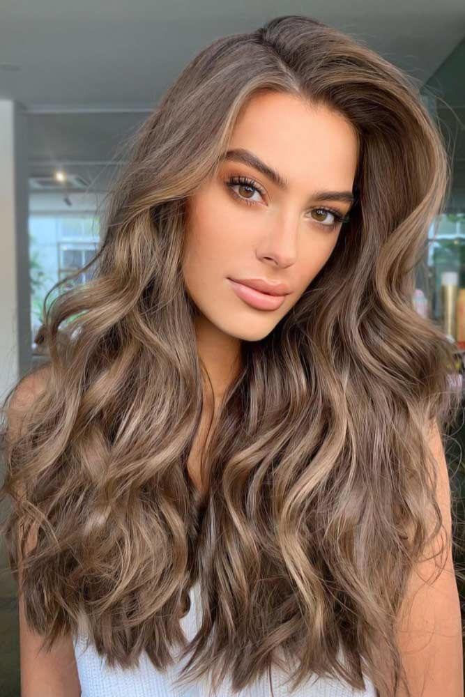 Is Ash Brown Natural Hair Color? #ashbrownhair #brownhair