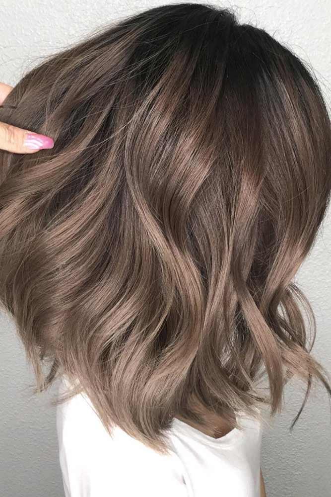 Ashy Ideas For Medium Hair Length picture2