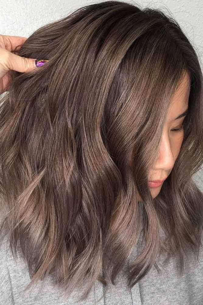 Ashy Ideas For Medium Hair Length picture1