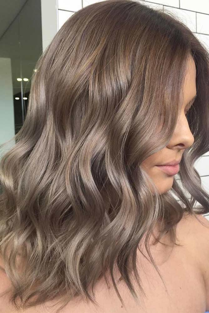 Ashy Ideas For Medium Hair Length picture3