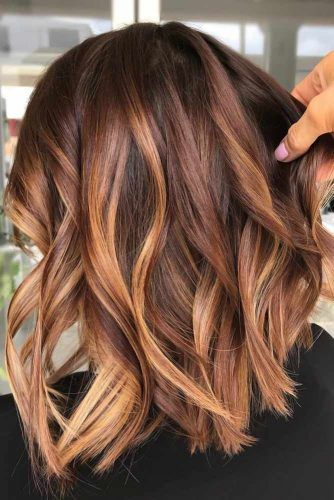 Auburn Locks For Brunettes #redhair #auburnhair