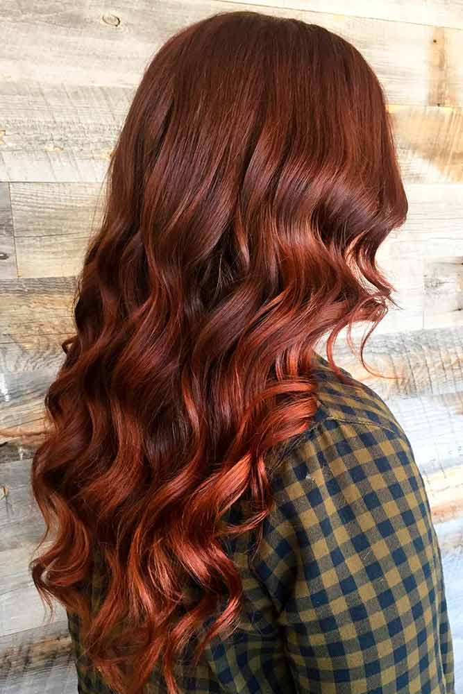 Auburn Hair Color Ideas To Look Natural