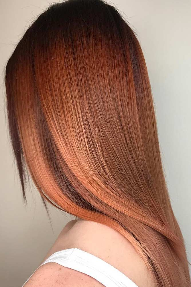 Awesome Auburn Hair Color Amber Tint picture1