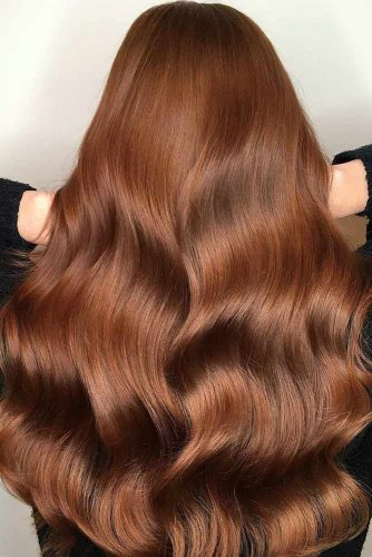 Awesome Auburn Hair Color Amber Tint picture3