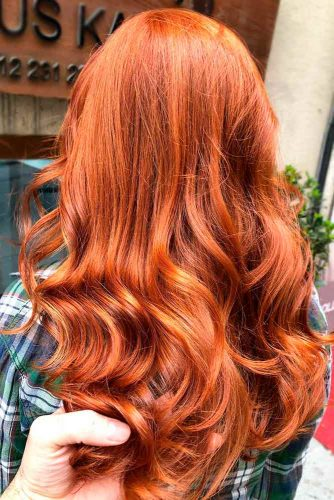 Rich Auburn Hair Color