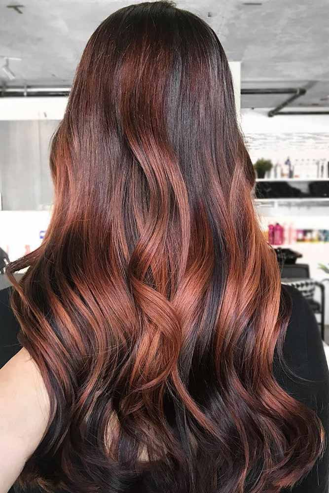 Auburn Hair Color with Red Tint picture2