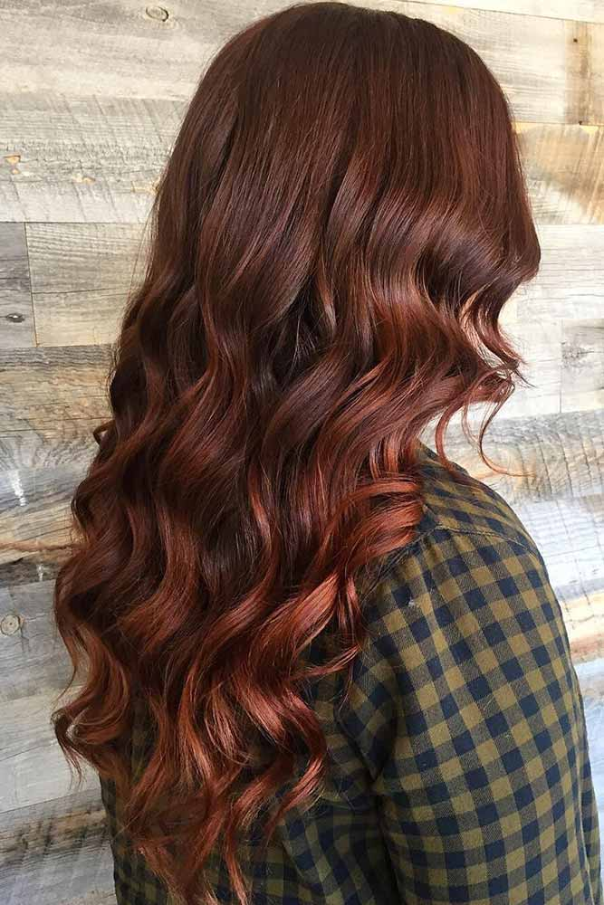 Auburn Hair Color with Red Tint picture1