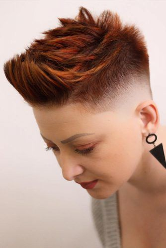 Auburn High Fade Haircut #fadehaircut #haircuts #shorthaircuts