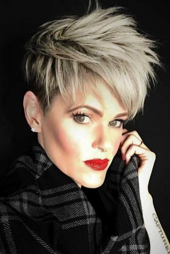 Fade Haircut Styles Pixie picture2