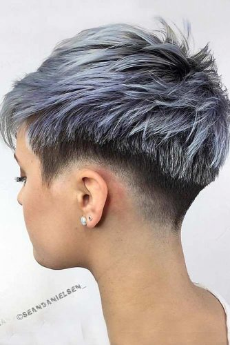 Fade Haircut Styles Pixie picture1