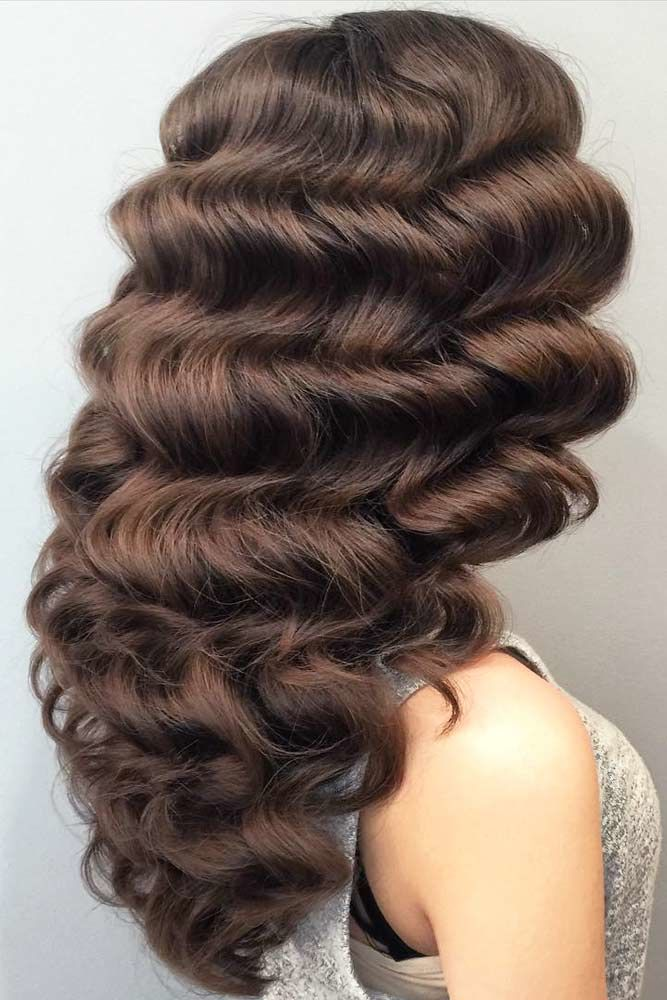 Hollywood Curls #curlyhair #curlyhairstyles