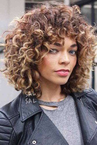 Curly Layered Bob picture1