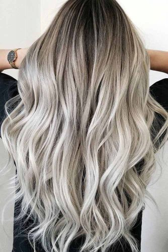 Platinum Blonde Natural Hair Ombre picture2