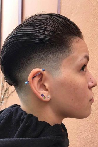 Faded Pompadour #pompadourhairstyle #haircuts #hairstyles