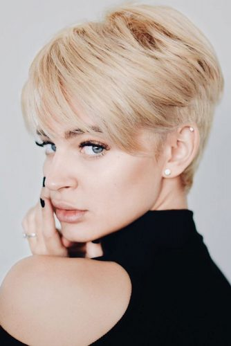 Short Hairstyles with Side Bangs picture2
