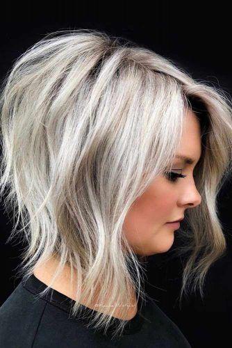Best Short To Medium Haircuts #shorthaircuts #roundfaces #haircuts #bobcut