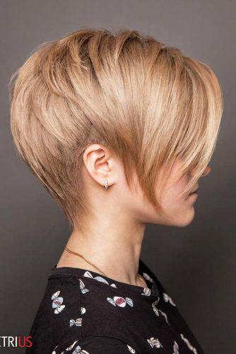 Pixie Haircut #shorthaircuts #roundfaces #haircuts #pixiecut