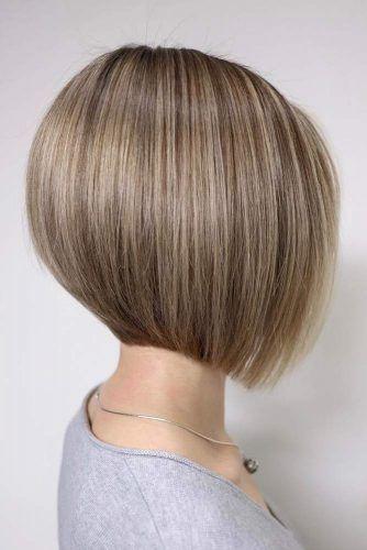 Straight Bob Cut #shorthaircuts #roundfaces #haircuts #bobcut