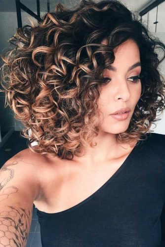 Shoulder Length Curly Hair picture1