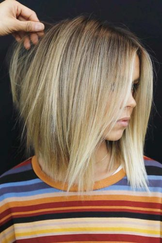 Straight Layered Haircuts for Woman picture3