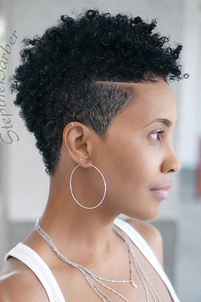 Natural Taper Fade Cut High #taperhaircutwomen