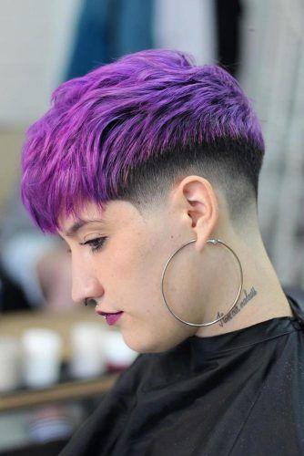 Violet Short Taper Haircut #taperhaircut #haircuts #shorthaircuts
