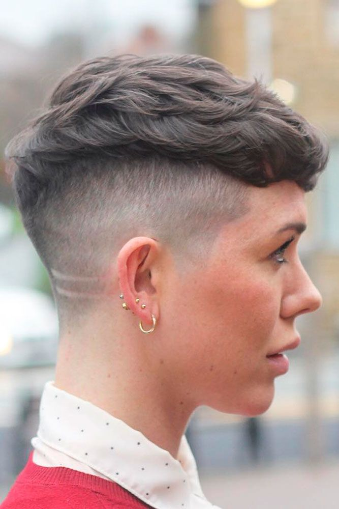 Textured Taper Haircut Fade Combo Waves #taperhaircutwomen