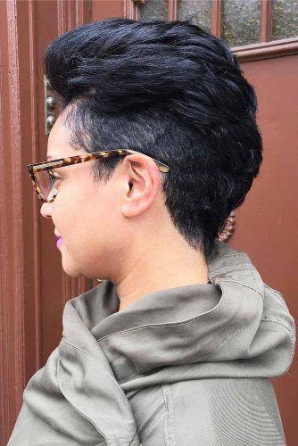 Thick Straight Tapered Hair #taperhaircut #haircuts #shorthaircuts