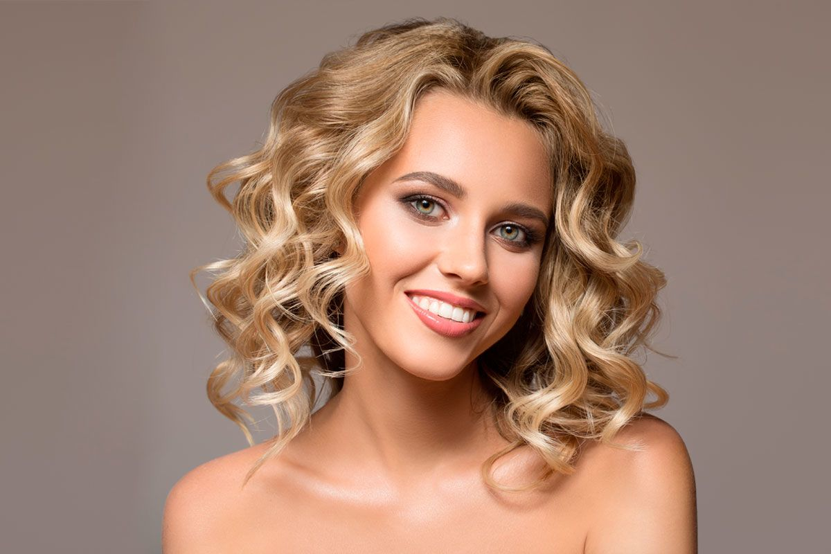 Attractive Shoulder Length Curly Hair Styles