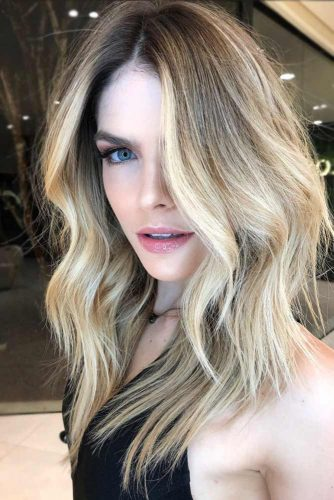 Tips On Dying Your Hair Blonde Brown #blondehair #balayage