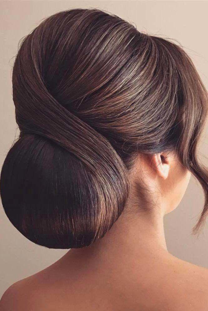 Elegant Bun For A Special Event #bun #chignonbun
