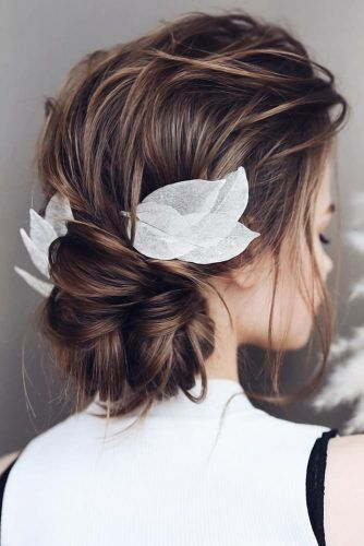 Elegant Bun For A Special Event Brown #bun #chignonbun
