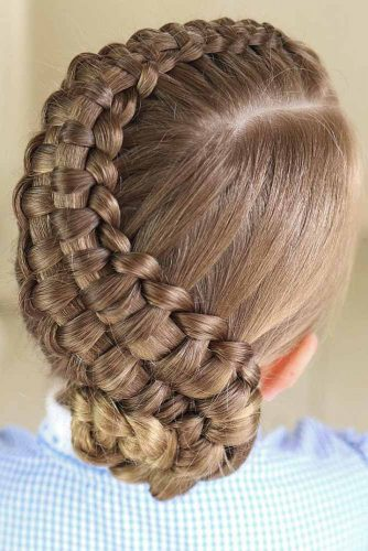 ZipperBraid Updo