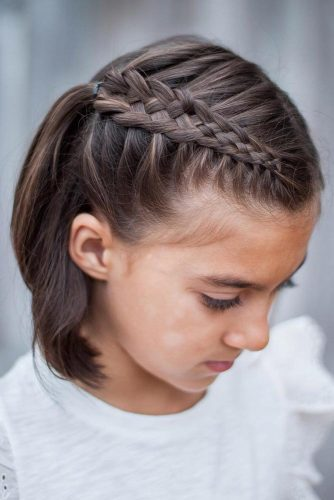 Cute Short Side Braids