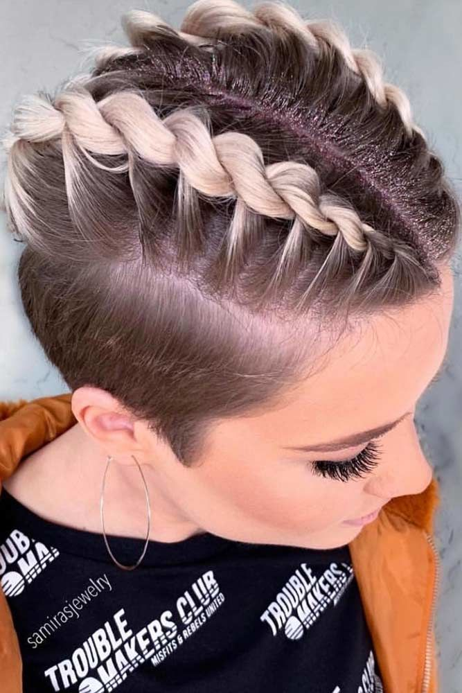 Twisted Hairstyles Disconnected Undercut #disconnectedundercut #undercut #haircuts