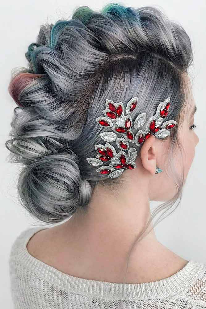 Faux Hawk Hairstyles For a Party picture1