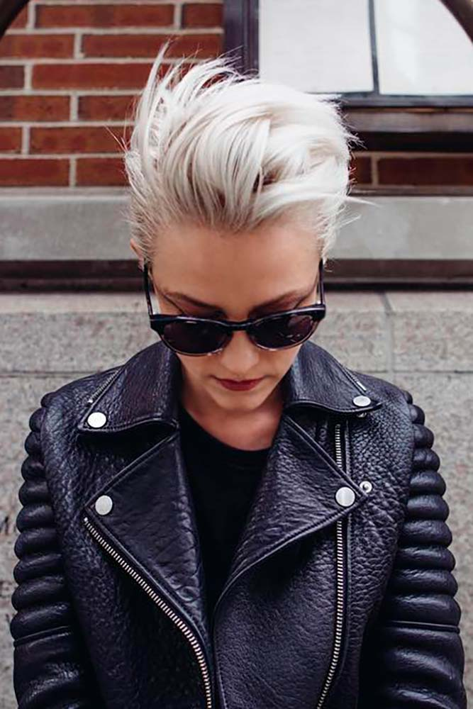 How To Style A Faux Hawk Pixie Cut