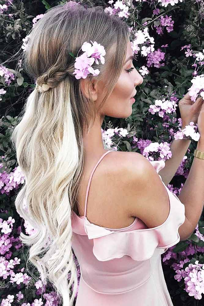 Romantic Hairstyles for Valentines Day picture1