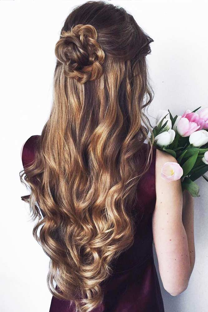 Cute Hairstyles for Valentines Day picture1