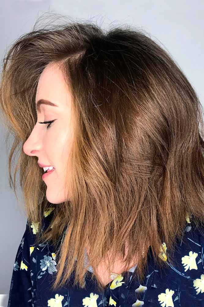 Inverted Wavy Bobs