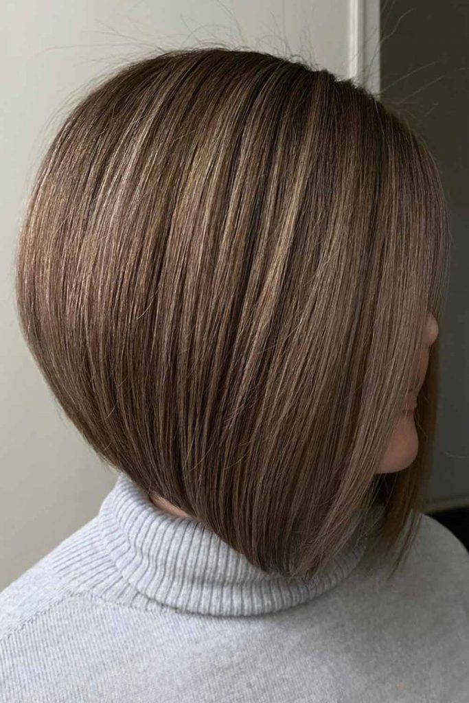 Inverted Bob With Rounded Back #invertedbob #bob