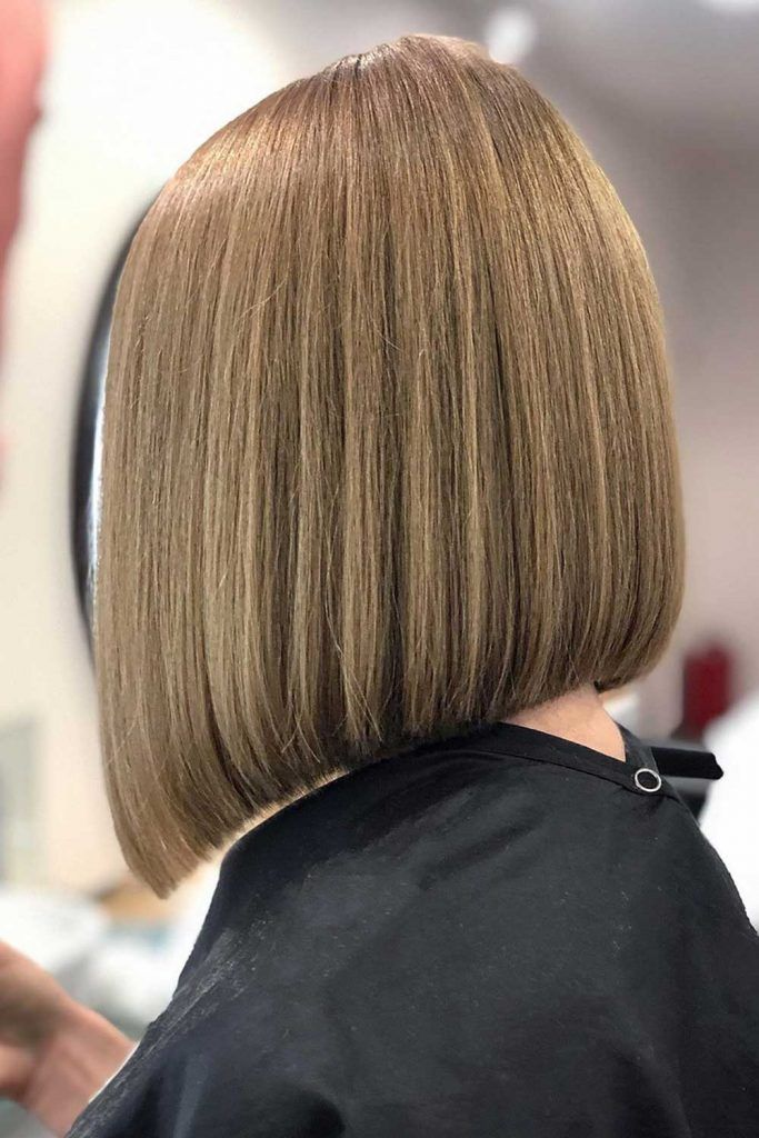 Smooth & Steep Inverted Bob #invertedbob #bob
