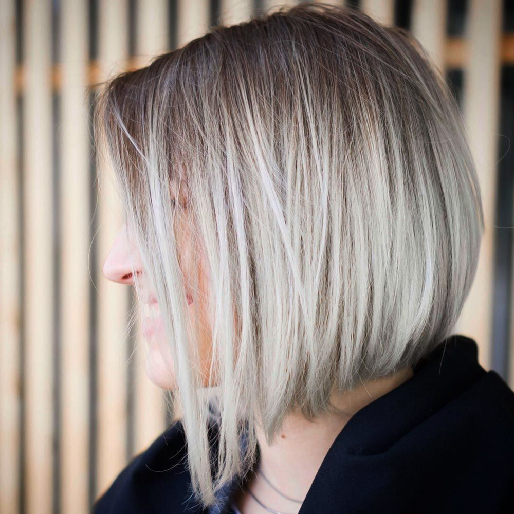 Wispy Inverted Bob With Accurate Edges #invertedbob #bob