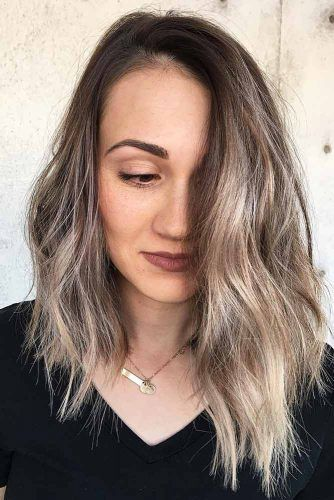 Messy Asymmetrical Long Haircuts #longhaircuts #haircuts