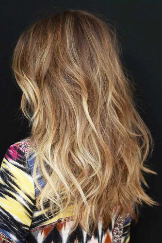 Textured Long Haircuts #longhaircuts #haircuts