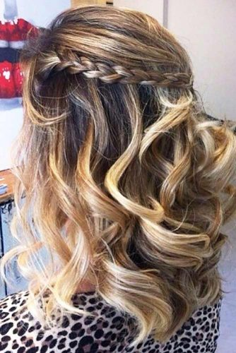 Half Up Medium Length Hairstyles picture3