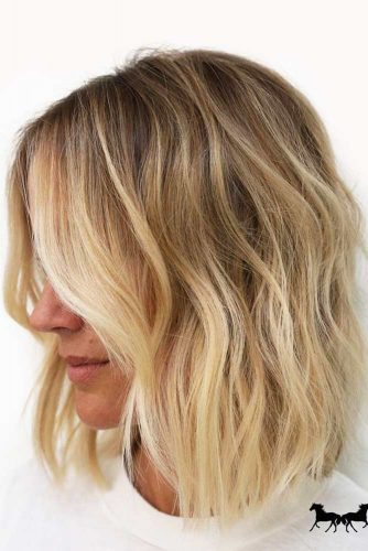 Wavy Medium Length Hairstyles picture2