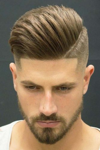 Men's Hairstyles for Straight Hair - Pompadour picture3