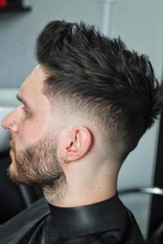 Faux Hawk Haircut #menshaircuts #haircuts