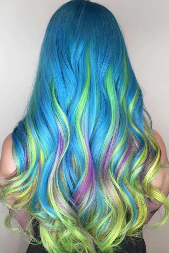 Mermaid Hair Highlights picture3